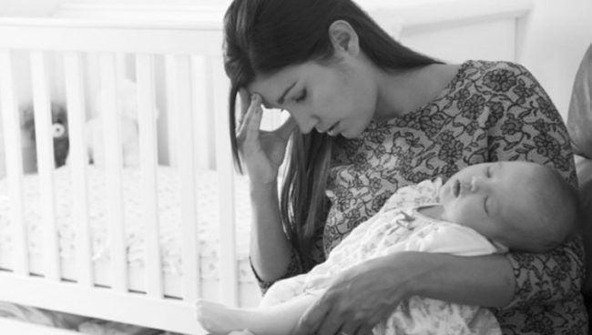 Depresión Post-Parto presente en mujeres