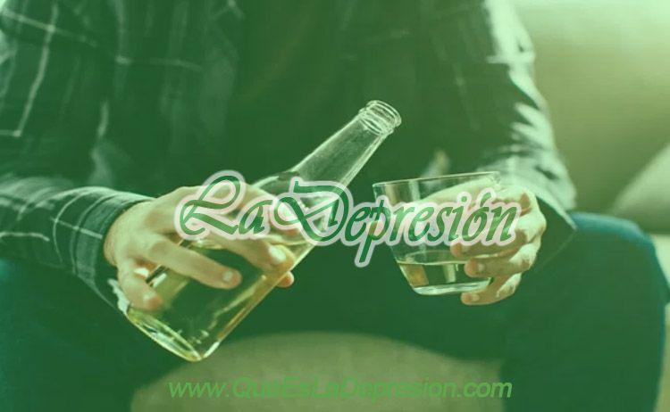Evita el Alcohol y las Drogas contra la Depresión
