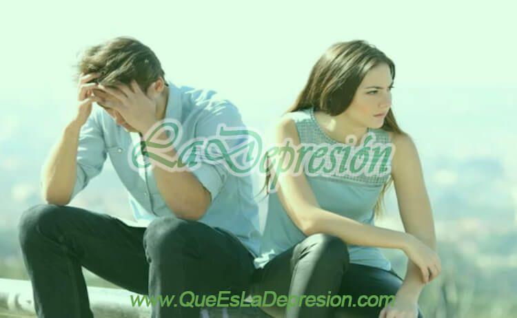 Imagen de pareja en crisis