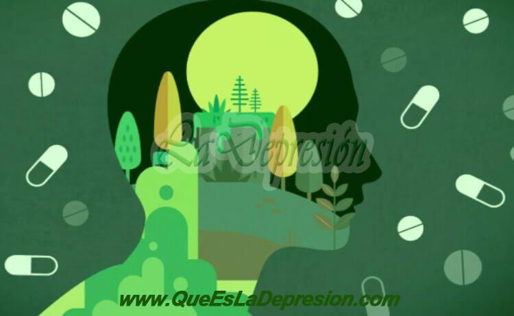 Dibujo de persona con depresión - Tipos de Depresión