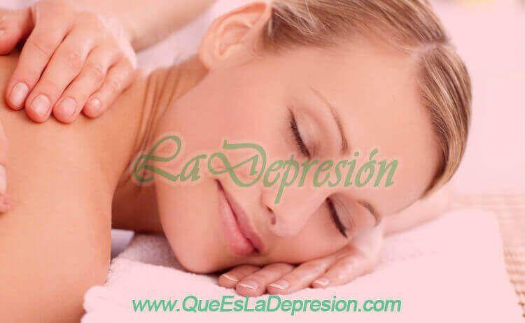 Conclusiones Masajes para aliviar los síntomas de la depresión y la ansiedad