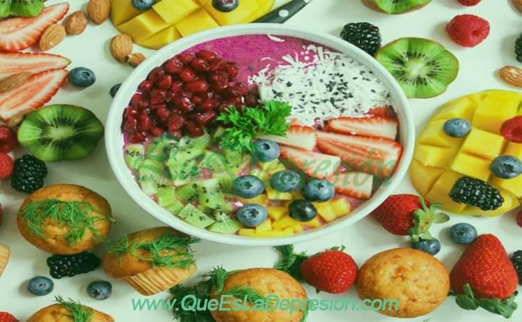 Alimentos naturales para la depresión