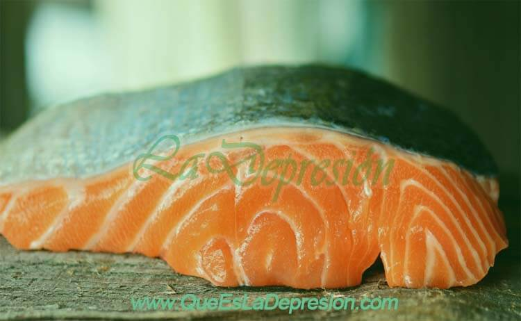 Pieza de salmón