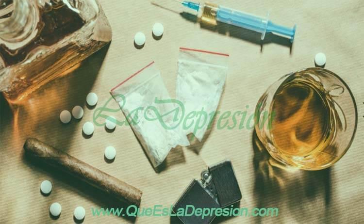 Relación entre la depresión y el abuso de sustancias