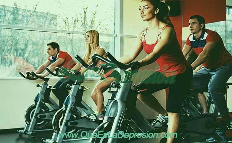 Depresión y ejercicio - Pedalear, una buena opción