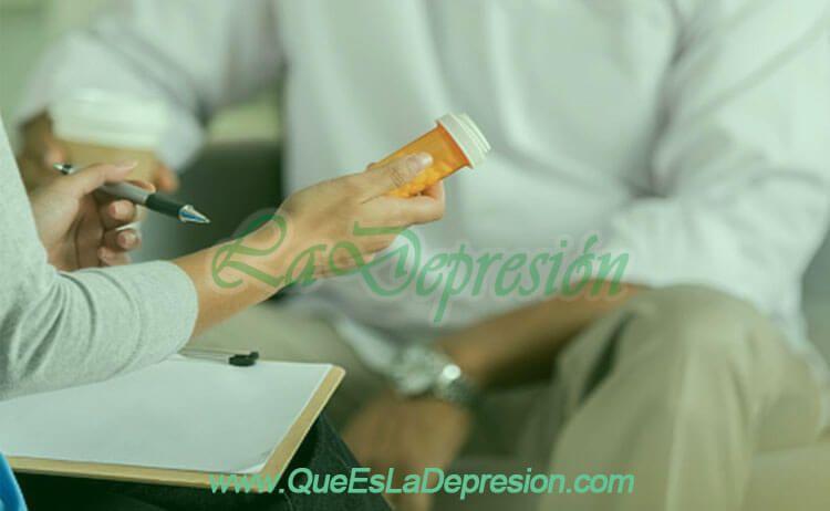 Tratamiento farmacológico con antidepresivos