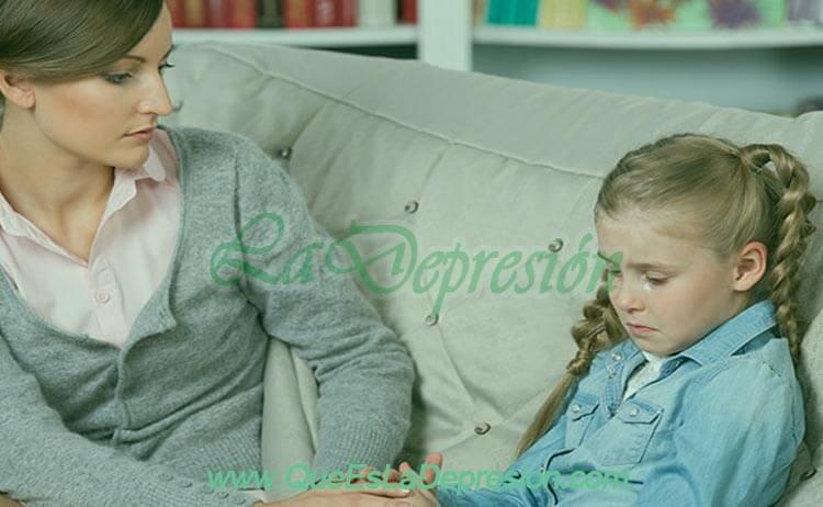 Problemas en los niños que requieren apoyo profesional